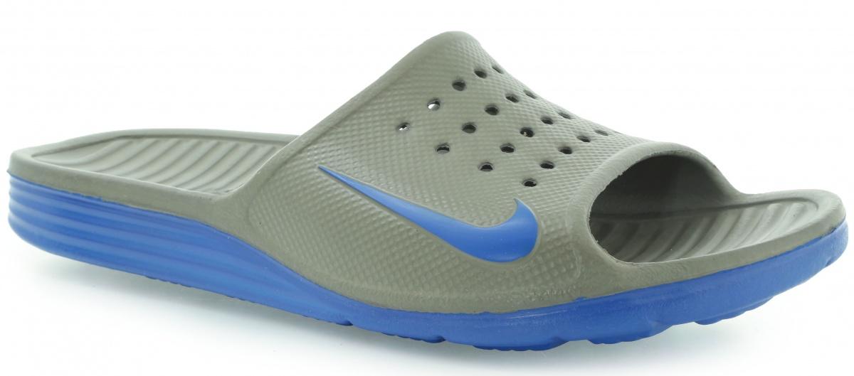 f46a9e3a Тапочки SOLARSOFT SLIDE 386163240 Nike — купить с доставкой в Киев и ...