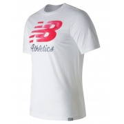 Футболка FLYING SCRIPT TEE1M MT71508WT New Balance
