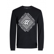 Толстовка JCOPIQUE SWEAT CREW 12116837Black Jack & Jones