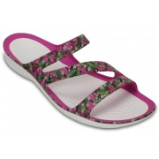 Босоножки SWIFTWATER GRAPHIC 204461-6JL-PINK CROCS