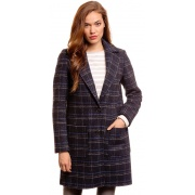 Пальто coat checked 382107100706593 Tom Tailor