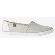 Балетки Slipper in Glitzer-Optics 48906040070silver Tom Tailor