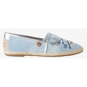 Балетки Espadrilles with Embroidery 48920020070ltblue Tom Tailor