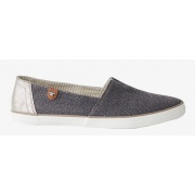 Балетки Slipper in Glitzer-Optics 48906040070grey Tom Tailor