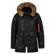 Куртка MJN31210C1-Black.O ALPHA INDUSTRIES