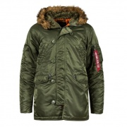 Куртка N-3B Slim Fit Sage Orange MJN31210C1-Sage.O ALPHA INDUSTRIES