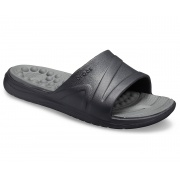 Тапочки Reviva Slide 205546-0DD-BLACK-SLAT CROCS