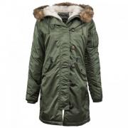 Куртка WJE45500C1-Sage ALPHA INDUSTRIES
