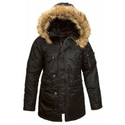 Куртка N-3B Women WJE44502C1-Black ALPHA INDUSTRIES