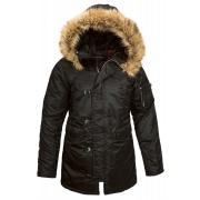 Куртка N-3B Women WJE44502C1-Black ALPHA INDUSTRIES