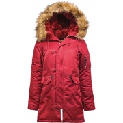 Куртка N-3B Women WJE44502C1-Comander Red ALPHA INDUSTRIES