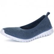 S19FDESS070DMX-Z2 38 Кеди жіночі ballerina knit синій