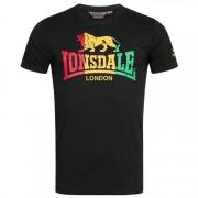 Футболка 115078-1000 Black Lonsdale