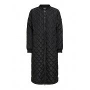 Пальто ONLJESSICA X-LONG QUILTED COAT OTW 15208402Black ONLY