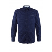 Рубашка JJMATTHEW SHIRT LS Slim Fit 12174101NavyBlazer Jack & Jones