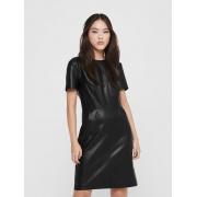 Платье URSA-DIONNE SS FAUX LEATHER DRESS PN 15216863 Black ONLY