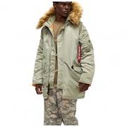 Куртка N-3B Slim Fit MJN31210C1-Dark.Khaki ALPHA INDUSTRIES
