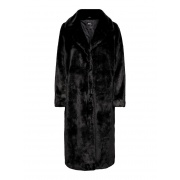 Шуба FRIDA LONG FAUX FUR COAT OTW 15209401 Black ONLY