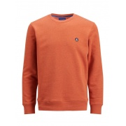Кофта JORVIBE SWEAT CREW NECK 12180433 Burnt Ochre Jack & Jones