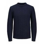 Кофта KIM KNIT CREW NECK 12173616 Sky Captain Jack & Jones