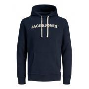 Толстовка JOR30HISTORY SWEAT HOOD 12181892 Navy Blazer Jack & Jones