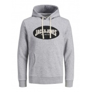 Толстовка JOR30HISTORY SWEAT HOOD 12181892 Light Grey Jack & Jones