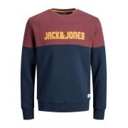 Кофта JORREXEN SWEAT CREW NECK FST 12182236 Navy Blazer Jack & Jones