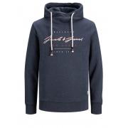 Толстовка JORORIGIN SWEAT HOOD 12184447 Navy Blazer Jack & Jones