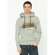 Толстовка JORMASH SWEAT HOOD FST 12180441 Light Grey Jack & Jones