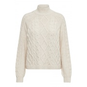 Кофта HIGHNECK PULLOVER KNT 15210792 Whitecap ONLY