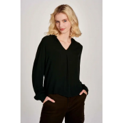 Блузка GOLDY L/S TOP WVN 15216316 Scarab ONLY