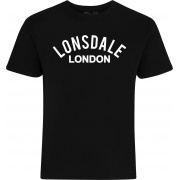 Футболка BRADFIELD 113808-1000 Black Lonsdale