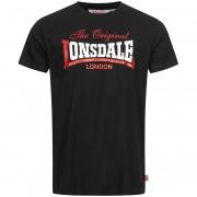 Футболка ALDINGHAM 117019-1000 Black Lonsdale