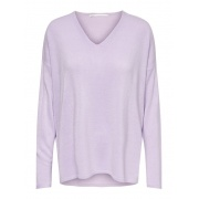 Пуловер ONLAMALIA L/S V-NECK PULLOVER CC KNT 15219642 Orchid Bloom ONLY