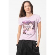 Футболка ONLVALENTINE S/S T-SHIRT JRS 15232003 Orchid Bloom ONLY