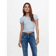 Блуза ONLEMMA S/S SHORT TOP NOOS JRS 15201206 Halogen Blue ONLY