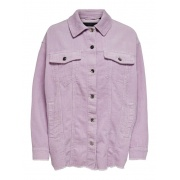 Сорочка ONLBITTEN LIFE CORD SHACKET PNT NOOS 15182101 Orchid Bloom ONLY