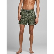 Плавальні шорти JJIMAUI JJSWIMSHORTS ST CAMO PRINT 12186940 Forest Night Jack & Jones