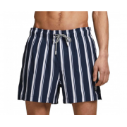 Плавальні шорти JJIMAUI JJSWIMSHORTS ST STRIPE 12186194 Navy Blazer Jack & Jones