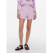 Шорти ONLSMILEY LIFE SHORTS SWT 15232827 Orchid Bloom-SMILEY ONLY
