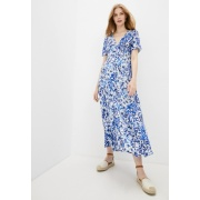 Сукня ONLENOLA S/S MIDI DRESS  WVN 15230958 Dazzling Blue-CRUISE FLORAL ONLY