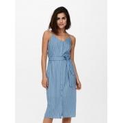 Сукня ONLARISA LONG STRIPE DRESS TLR 15229302 Allure - CLOUD DANCER ONLY