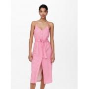 Сукня ONLARISA LONG STRIPE DRESS TLR 15229302 Sachet Pink - CLOUD DANCER ONLY