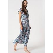 Сукня ONLALASKA CAPSLEEVE ANKLE DRESS WVN 15230380 Dazzling Blue - SURF FLORAL ONLY