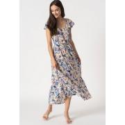 Сукня ONLALASKA CAPSLEEVE ANKLE DRESS WVN 15230380 Dusted Peri - SURF FLORAL ONLY