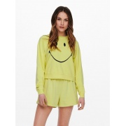 Толстовка ONLSMILEY LIFE L/S SWT 15232823 Sunshine-SMILEY ONLY