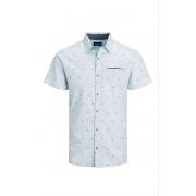 Сорочка JORSOLAR SHIRT SS 12187984 Cashmere Blue Jack & Jones