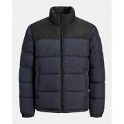 Куртка JJPAUL PUFFER COLLAR 12189971 Dark Navy - Detail: BLOCKING Jack & Jones