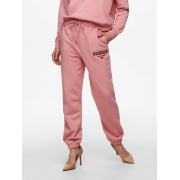 Штани ONLCOLLEGE LIFE PANTS SWT 15235557-Blush-Print: MICHIGAN ONLY