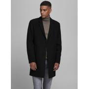 Пальто JJEMOULDER WOOL COAT SN 12171374-Black Jack & Jones